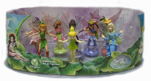 Buy Disney Fairies Figurine Set of 8 with Tinkerbell