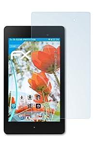 2 x atFoliX Google Nexus 7 (Asus) (2.Generation 2013) Protecteur d'Écran - FX-Clear ultra claire