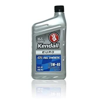 Kendall Gt 1 Full Synthetic 5w 40 12 1 Qt