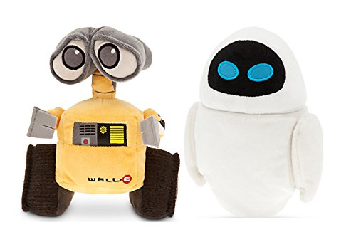Pixar Animation Studios Character Wall·e and Eve Plush Toy Disney Baby Toy
