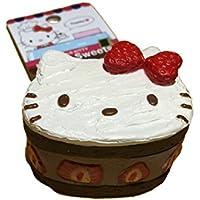 Sanrio Hello Kitty Lovely Sweets Chocolate Shortcake Squishy