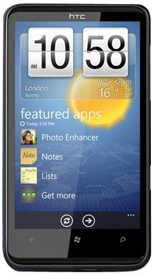 HTC - HD7 - Smartphone - Windows Phone 7 - Wifi - Bluetooth - Noir