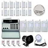 ORStore 05362 Wireless Home Security Alarm System Kit with Auto Dial