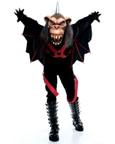 Wicked of Oz Flying Monkey Adult Halloween Costume Size 46-48 Large