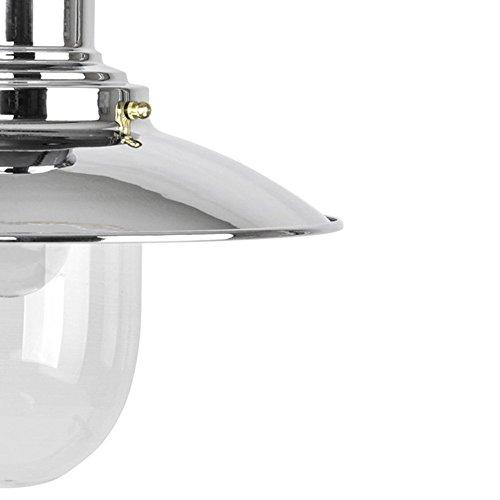 Lampada Sospensione Vetro Metallo Alien : Lampada a sospensione fisherman e moderna di metallo