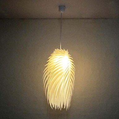 60W 1 - Light Artistic Acrylic Pendant Light In Warm Color