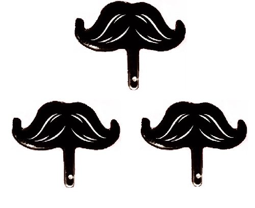 Mustache Mini Mylar Balloon (Pack of 3) - 1