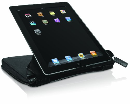 Macally BOOKSTANDPRO2 Case with Rotatable View Stand for iPad 2