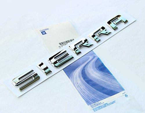 [해외]Chevrolet Gm 2500HD 3500HD Sierra 용 Yooo® 1x OEM 크롬 시에라 네임 플레이트 알로이 문자 엠블럼 배지 광택/Yoaoo® 1x OEM Chrome Sierra Nameplate Al