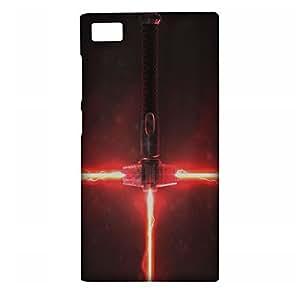 Lorem Saber (Star Wars) Matte Back Cover For Xiaomi Mi3