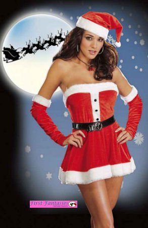 Sexy Santas Sweetie Costume Lingerie Wow lots of accessories too!