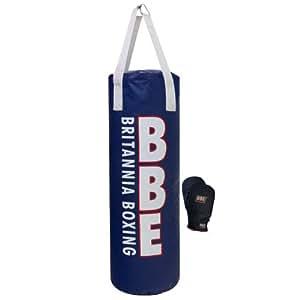 Bbe Punchbag - Blue/White, 4Ft