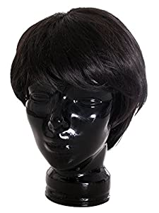 Stylish Short Black versus cosplay men's wigs from AMC