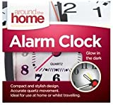 Home Travel Compact Quartz Movement Alarm Clock - Red