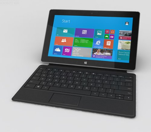 "Microsoft Surface 2 32Gb Tablet - Windows Rt 8.1, 10.6"" 1920X1080 Lcd Touchscreen, 32Gb Storage, 2Gb Memory, Front And Rear Camera With Black Type Cover 2"