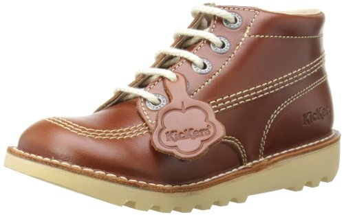 kisses-kick-hi-y-core-botas-para-ninos-color-dark-tan-talla-talla-inglesa-5-uk