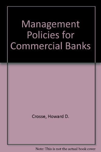 Management Policies for Commercial Banks