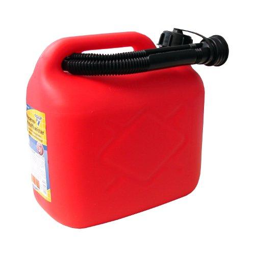 Kraftstoffkanister 5 Liter, PVC rot, UN-Zulassung