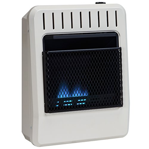 Avenger Dual Fuel Vent Free Blue Flame Wall Heater - 10,000 BTU, Model# FDT10BF (Wall Mount Indoor Propane Heater compare prices)