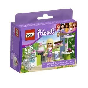 Toy / Game Beautiful Lego Friends Stephanie'S Outdoor Bakery 3930 - Oven, Sink And Table With Umbrella