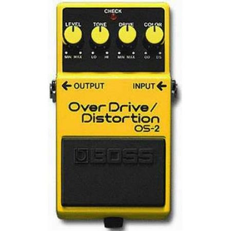 BOSS OS2 OVERDRIVE DISTORTION OS2