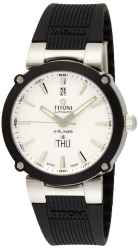 Titoni Men's 93925 SB-RB-247 Airliner Swiss Automatic Watch