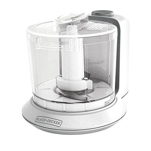 BLACK+DECKER HC306 1-1/2-Cup One-Touch Electric Chopper, White (Black Decker Chopper compare prices)
