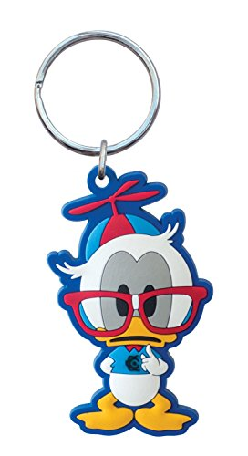 Disney Nerds Donald PVC Soft Touch Key Ring