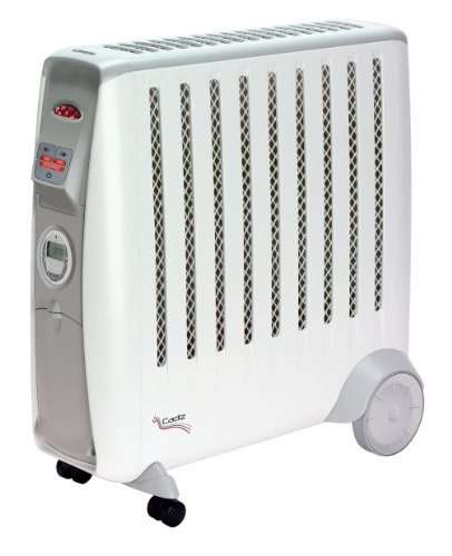 Dimplex CDE2TI Cadiz Eco Electric Oil Free Radiator, 2 Kilowatt