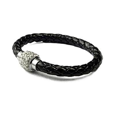 AUTHENTIC HANDMADE Leather Bracelet, Men Women Wristbands Braided Bangle Craft Multi [SKU001489]