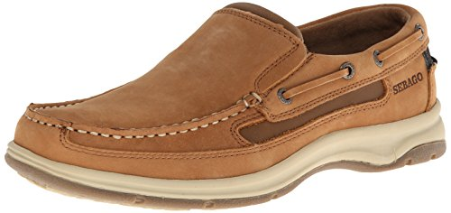 Sebago Men's Blue Fin Slip-On Oxford,Tan,11 M US