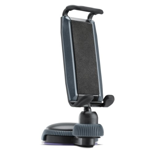 USA Gear Universal Car Vehicle Dashboard Windshield Phone Mount Holder with Suction Base & Adjustable Cradle for Huawei Premia 4G , Ascend / Kyocera Event , Torque / Pantech Discover , Flex , Renue / ZTE and More *Bonus Stylus + Cleaning Cloth*