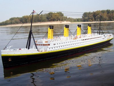 RC RMS TITANIC 1:325 R/C BOAT RC SHIP Ready to Run (RTR)