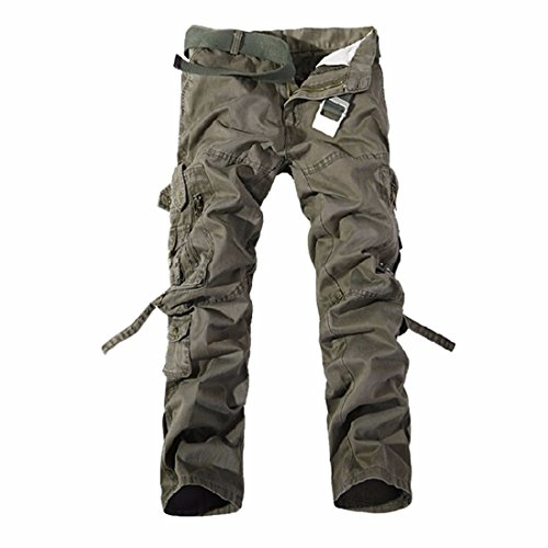 Militari A Piu Uomini Tasca Cargo Dell'Esercito Lungo Combattimento Pantaloni Pantaloni Da Lavoro Tattici