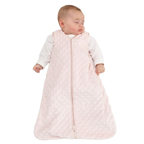 HALO SleepSack Micro Fleece Wearable Blanket, Pink, Large