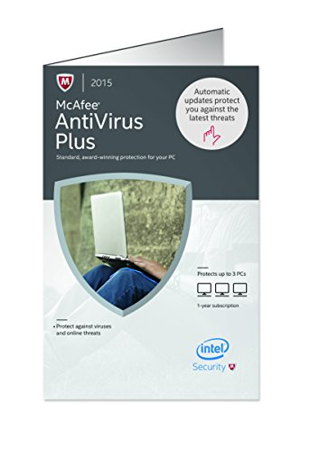 McAfee Antivirus Plus 2015 – 3 PCs image