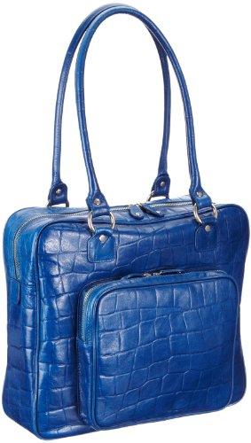 Bugatti Bags Red Line, RV-mit RV-Vortasche 88550205, Damen Shopper, Blau (blau 05), 34x30x9 cm (B x H x T)