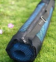 Black Mesh Sports Tote Bag Size: Regular