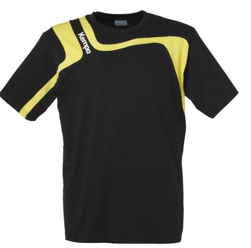 Kempa Aspire maglietta nero/limone