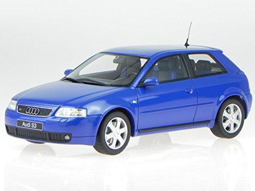 Audi-A3-S3-blau-Modellauto-Resine-OT099-Otto-118