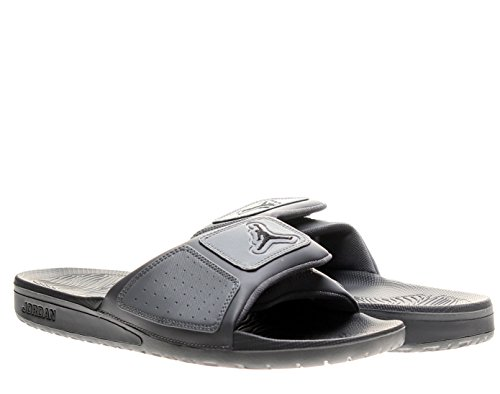 Jordan Mens Jordan Hydro 3 Sandals, Cool Grey, 12 M Us
