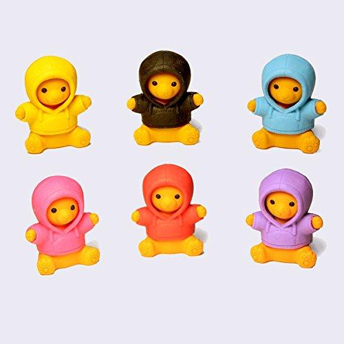 Iwako 6 colori parka sopportare Gomme giapponesi dal Giappone