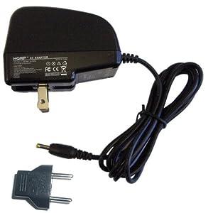 HQRP Wall AC Power Adapter for KODAK M340 M341 M380 M381 M753 M763 V705 V803 Z950 Z980 Digital Camera plus Euro Plug Adapter