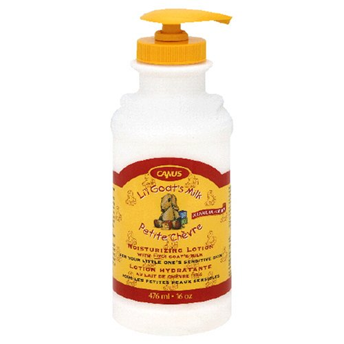 Canus Li'l Goat's Milk Lotion 16-Ounce (Pack of 3)