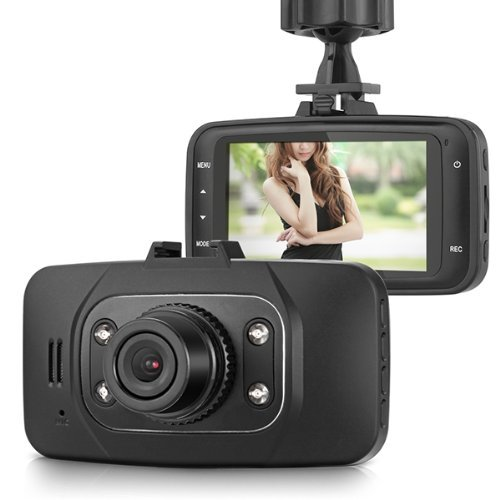 """SODIAL(R) 2.7"""" TFT 1080P HD Voiture DVR Route Camera Dash video G-senseur HDMI GS 8000L"""