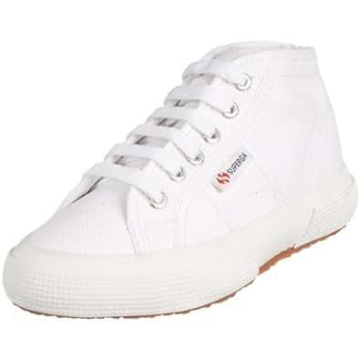 Superga 2754- JCOT CLASSIC S001LW0, Unisex-Kinder Sneaker, Weiß (White 901), EU 24
