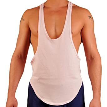Stringer Tank Tops The most revealing in our line of muscle apparel, our stringer tank tops allow a sneak peak of your muscled physique, while also keeping you cool as you lift. As most gyms rules generally require a shirt as proper attire, these tank tops allow you to see your progress as you get pumped up during your workout.
