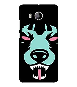 EPICCASE Scary Wolf Mobile Back Case Cover For VIVO X shot (Designer Case)