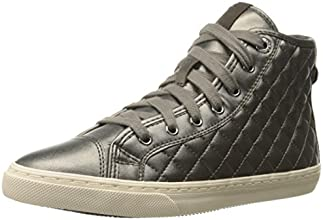 Geox D New Club A, Sneaker, Donna, Beige (Dove Grey), 38