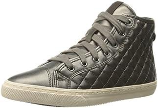 Geox D New Club A, Sneaker, Donna, Beige (Dove Grey), 38